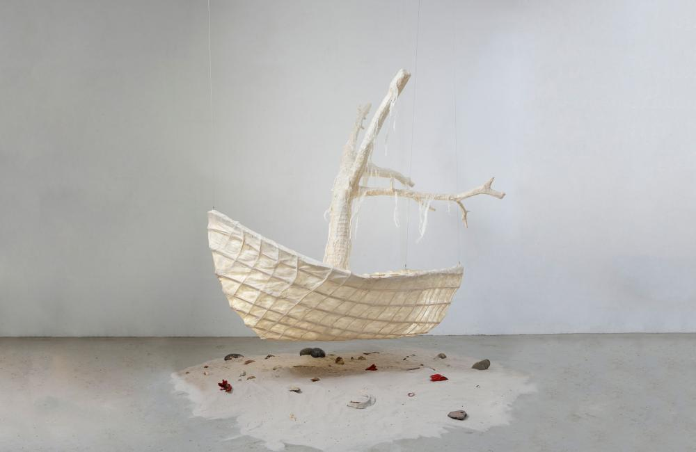 Mariëlle van den Bergh - Floating Boat
