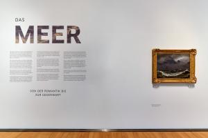 Das Meer - Ausstellungsansicht I