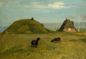Paula Modersohn-Becker, Ziegen auf Amrum