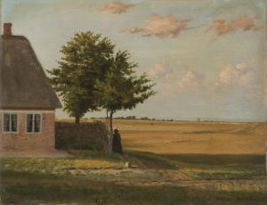 Carl Ludwig Jessen - Nordfriesische Sommerlandschaft