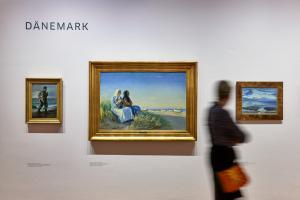 Das Meer - Ausstellungsansicht II
