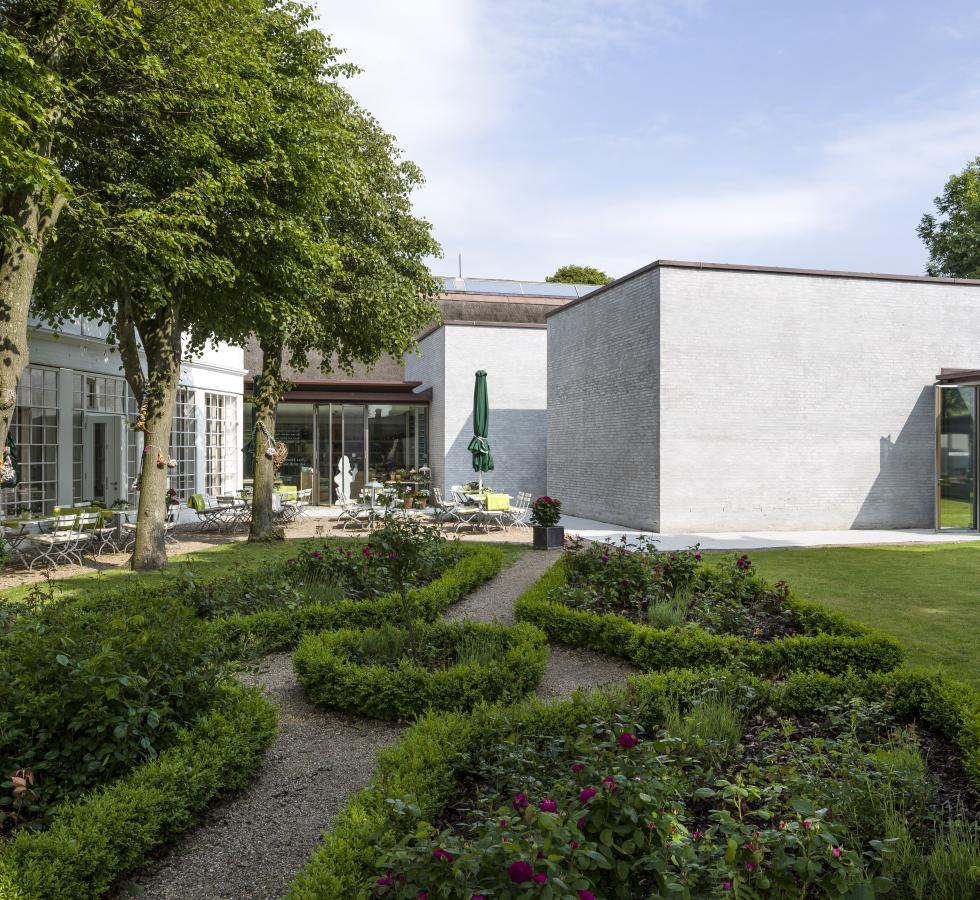 Ansicht Garten Museum Kunst der Westküste