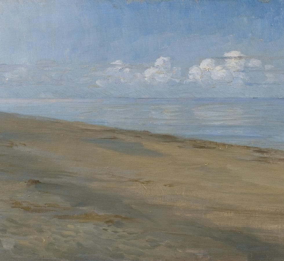 Peder Severin Krøyer - Fischer am Strand von Skagen