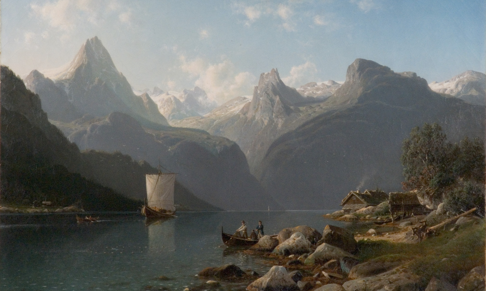 Fascinating Norway Landscape Painting from Romanticism to Modernism |  www.mkdw.de