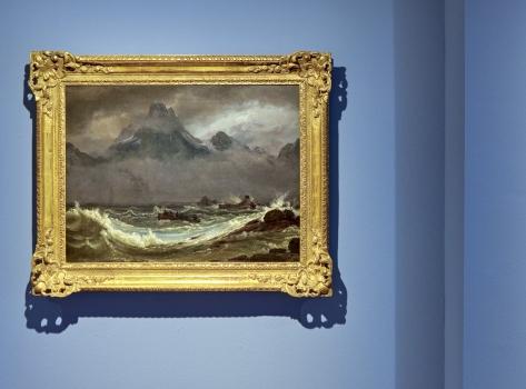 Johan Christian Dahl, Schiffswrack an der Küste Finnmarks, 1847